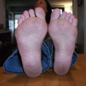 Free porn pics of Donna Queen: Barefoot & Blue Jeans Indoors 1 of 16 pics