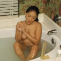 Free porn pics of Soaped up dildo play 1 of 107 pics
