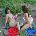 Free porn pics of Outdoor lesbian dildo play 1 of 50 pics