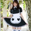 Free porn pics of Nakamura Shizuka teases us with her Maid outfits 1 of 29 pics