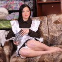 Free porn pics of Barefoot Russian Maid Stripped & Punished Hard 1 of 48 pics