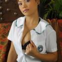 Free porn pics of Thai teen Ashly has lovely tits 1 of 115 pics