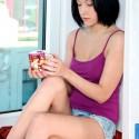 Free porn pics of Cute Teens - DOMINIKA - Window Sill 1 of 72 pics