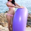 Free porn pics of Asiática se clava un dildo en la playa 1 of 16 pics