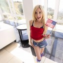 Free porn pics of American cheerleader Piper Perri gives service 1 of 19 pics