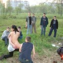 Free porn pics of Sexy Russian Teen Outdoor Posing 1 of 24 pics
